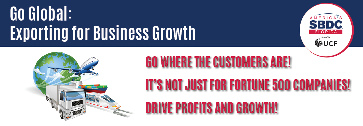 Go Global: Exporting for Business Growth