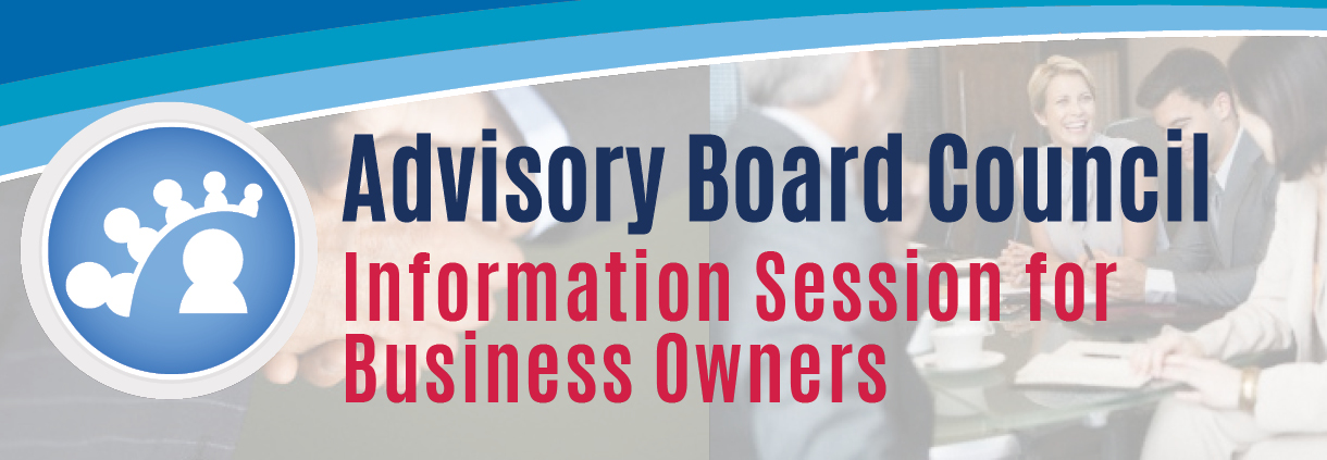 Advisory Board Council Information Session