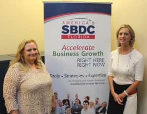 Kathleen Thompson, Barracuda Building Corp, FSBDC at UCF, Jill McLaughlin