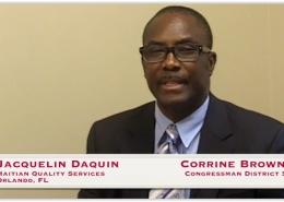 Jacquelin DaQuin, Haitian Quality Services, Corrine Brown, Orlando, FL