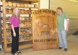 Old Hearth, Bread Company, Jill McLaughlin