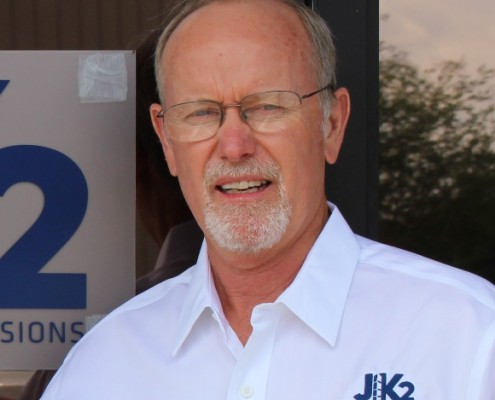 Paul Holmes of JK2 Construction and Scenic