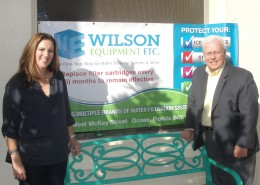 Wilson Equipment, FSBDC, Valerie Wilson, Hunt Dawkins