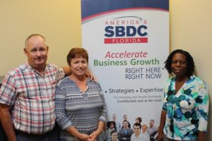 Three Volcanoes Farm, Emergency Bridge Loan, Hurricane Irma, SBA Loan, FSBDC, Pauline Davis, Karen Owens, Wally Owens