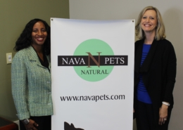 NAVA PET's Janel Young with Florida SBDC at UCF's Jill McLaughlin (L-R)