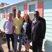 Floating Bungalows with FSBDC at SSC Director Moses Ayiku