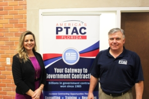 Major Ashley Green of Patriot Government Partners with PTAC Consultant Steve South