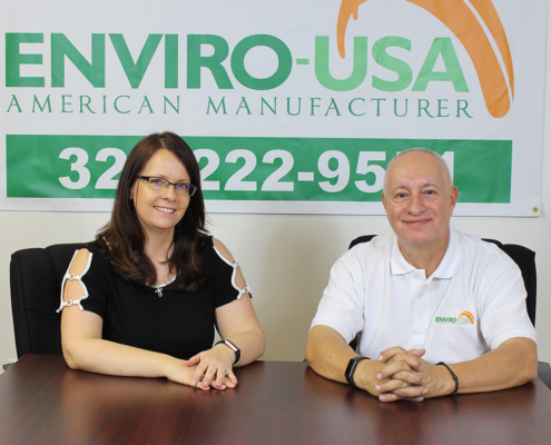 Enviro USA Manufacturing's Jennifer and Luis Vargas