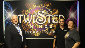 Ray Peter of the FSBDC at UCF - Palm Coast with Twisted Minds